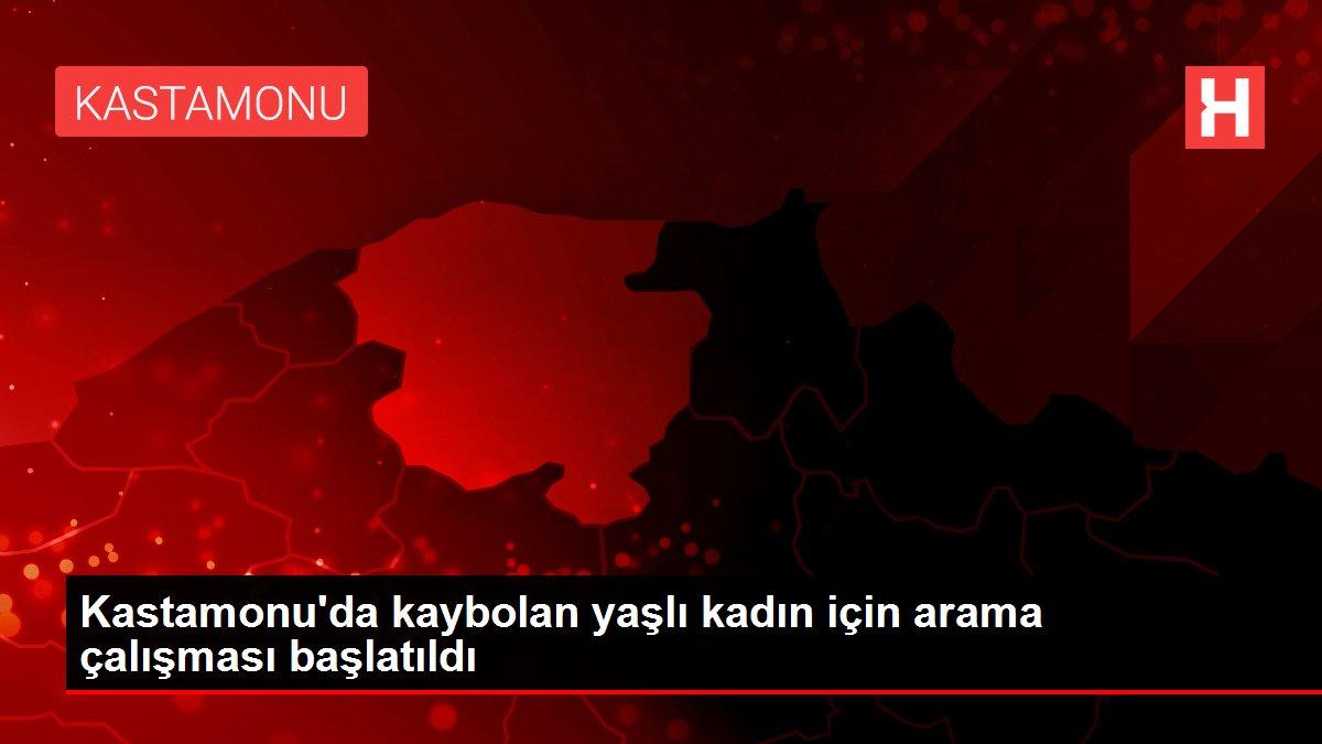 Kastamonu'da kaybolan yaşlı kadın için arama çalışması başlatıldı