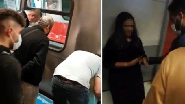 Metro raylarına düşen ve üzerinden 2 vagon geçen kızın mucize kurtuluşu
