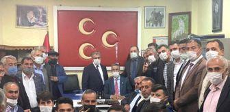 Erzurum: Prof. Dr. Kamil Aydın ilçe ziyaretlerinde çiftçilerle bir araya geldi