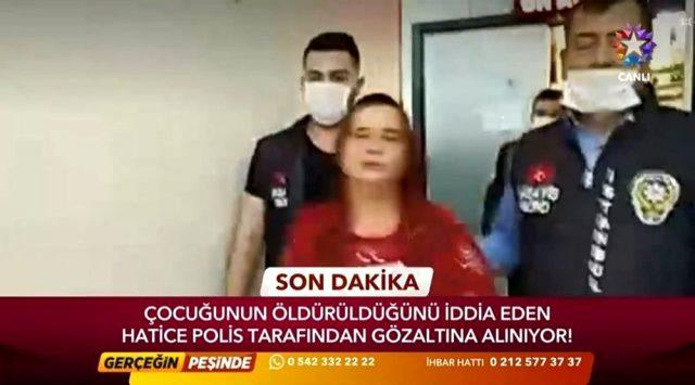 2 günlük bebeğini öldürdüğü ileri sürülen anne, Serap Özgü'nün programının canlı yayınında gözaltına alındı