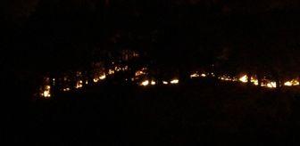 Drone: Son dakika haberi | Anamur'da orman yangını devam ediyor