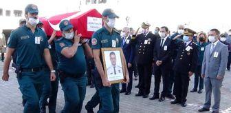 Marmara: Çanakkale'de merdivenden düşüp, ölen gümrük muhafaza memuru için tören