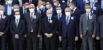 Mustafa Şentop: Son dakika haber | Eski Sağlık Bakanı Durmuş için TBMM'de tören