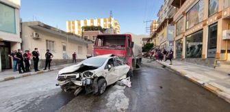 Olay Yerine: İskenderun'da yangın bölgesine su taşıyan tanker 13 aracı biçti: 1 yaralı