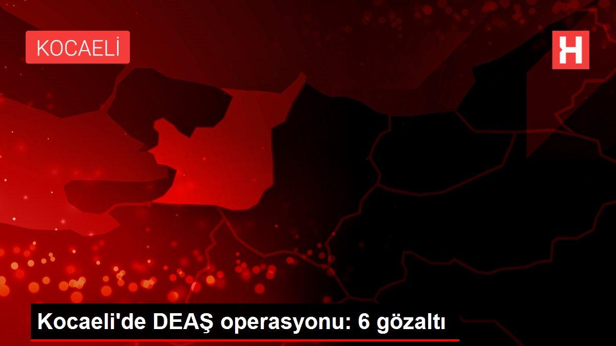 Kocaeli'de DEAŞ operasyonu: 6 gözaltı