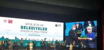 Emine Erdoğan: Melikgazi'nin Sıfır Atık Projesi ve çalışmalar TBB tarafından ödüllendirildi