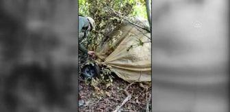 Münbiç: PKK'lı teröristlerin Amanoslar'a uzanan 'paramotor oyunu' bozuldu