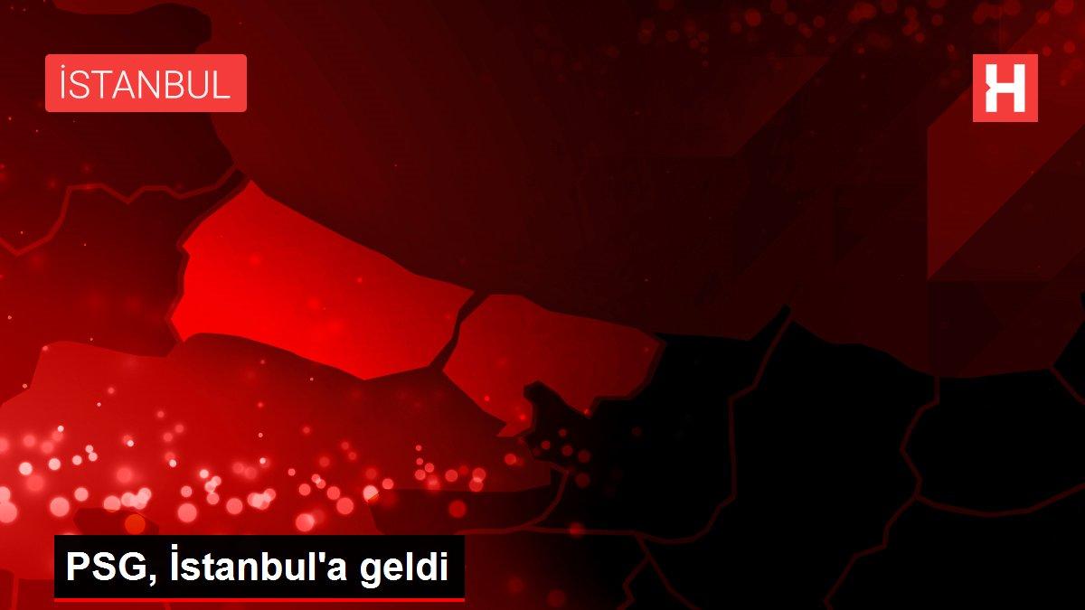 PSG, İstanbul'a geldi