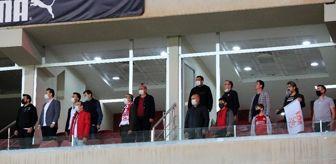 29 Ekim: Sivasspor: 'Locaların yüzde 50'si kadar seyirci alınacak'