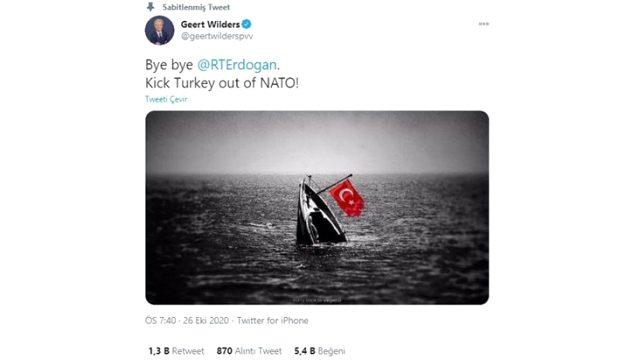 Son Dakika! Cumhurbaşkanı Erdoğan'dan Wilders hakkında suç duyurusu