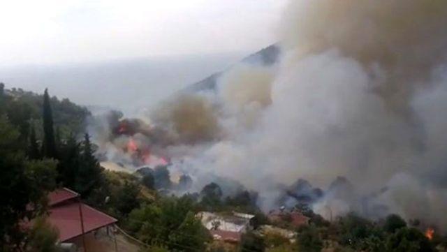 Son Dakika: Mersin Anamur'da orman yangını! 50 hane boşaltıldı, Mersin-Antalya karayolu kapatıldı