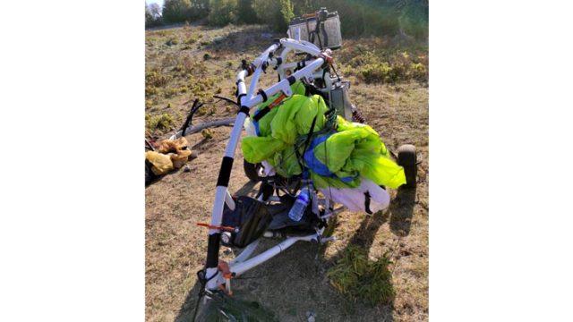 Teröristlerin Amanos'a geldikleri paramotorlar ele geçirildi