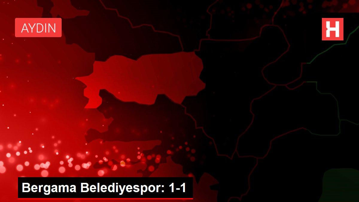 Bergama Belediyespor: 1-1
