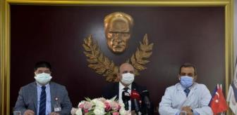 İbni Sina: Kovid-19'a karşı Çin'de geliştirilen aşının İbni Sina Hastanesi'nde gönüllülere uygulaması başladı (1)