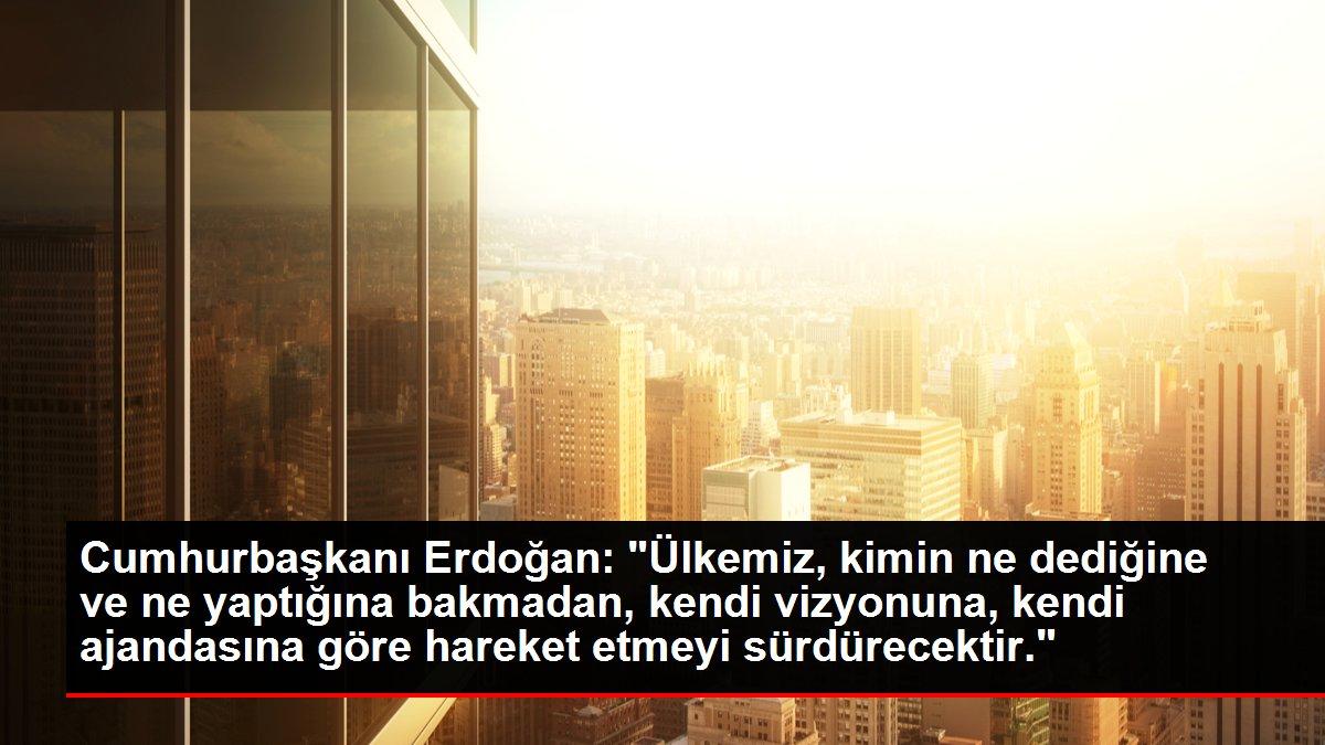 Son dakika haberi   Cumhurbaşkanı Erdoğan: