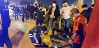 Bursa: Son dakika haberleri | Kazayı görüp, aniden frene basan motosiklet sürücüsü yaralandı