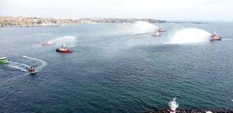 Marmara Ereğlisi: Marmara Ereğlisi'nde, 29 Ekim kutlamaları denizde başladı