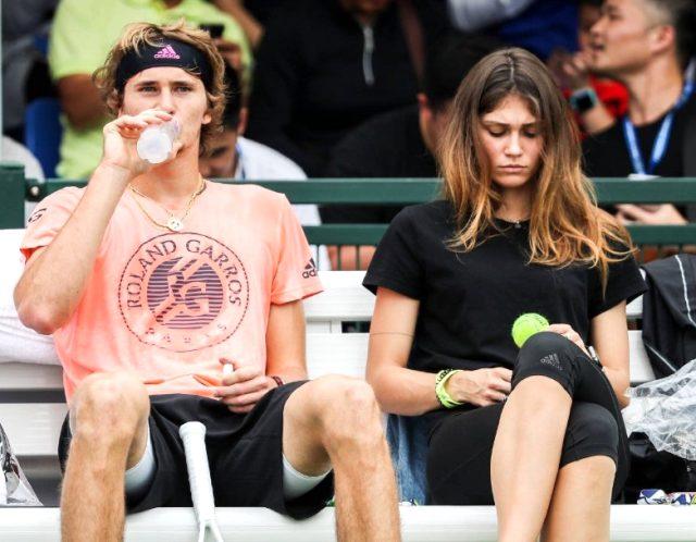 Ünlü model Brenda Patea, Alman tenisçi Alexander Zverev'den hamile olduğunu duyurdu