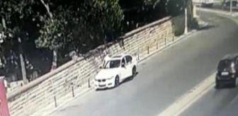 Büro: Üsküdar'da çalınan aracının peşinden böyle koştu