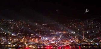 Demirhan Elçin: 29 Ekim Cumhuriyet Bayramı kutlamaları - Havai fişek ve lazer gösterisi