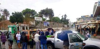 İzmir: Aydın'da tedavisi tamamlanan caretta caretta denizi bırakıldı
