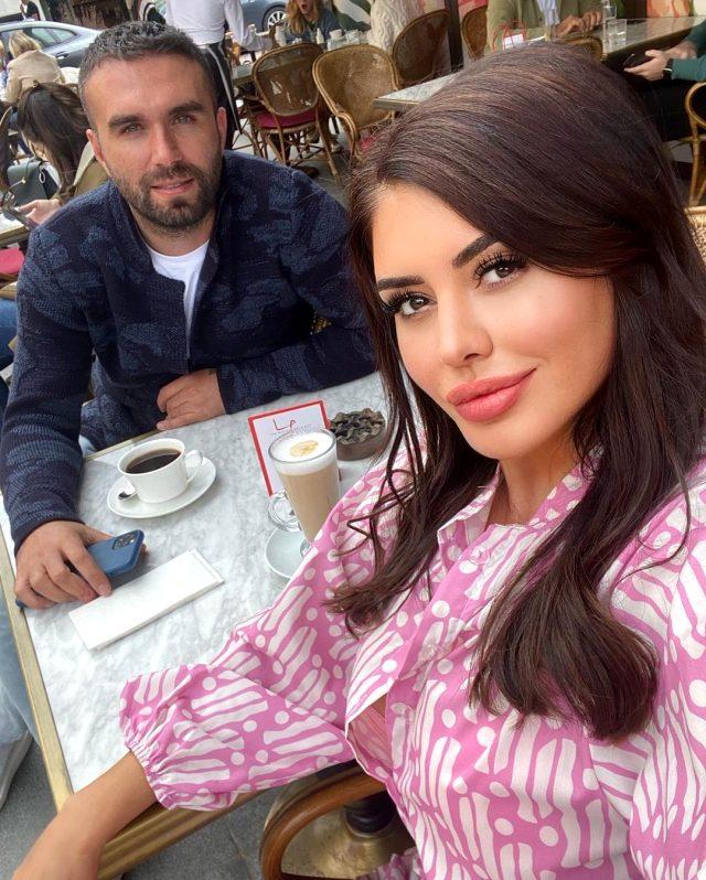 İddialı pozlarıyla gündeme gelen Ebru Polat, yeni sevgilisiyle ilk kez görüntülendi
