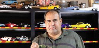 Antalya: 42 yılda 1000'in üzerinde oyuncak araba biriktirdi