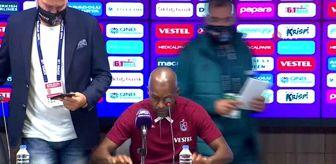Trabzon: Eddie Newton: 'Mücadeleden kaçan biri değilim'