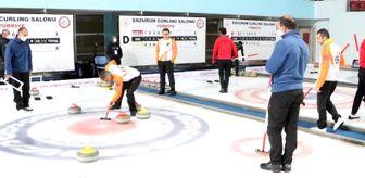 Samsun: Erzurum'da curling heyecanı
