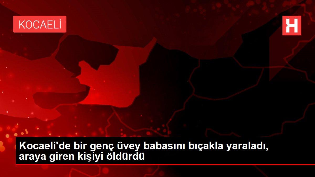 Kocaeli'de bir genç üvey babasını bıçakla yaraladı, araya giren kişiyi öldürdü