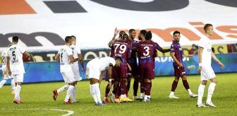 Trabzon: Süper Lig: Trabzonspor: 3 - Kasımpaşa: 2 (İlk yarı)