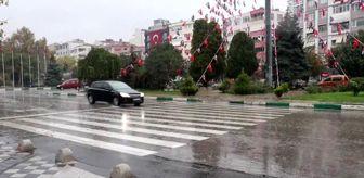 Trakya Bölgesi: Trakya'da sağanak etkili oluyor - KIRKLARELİ/