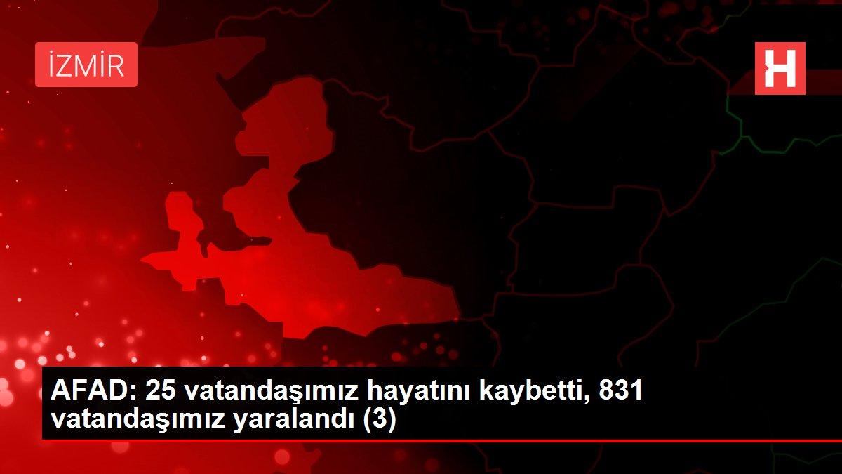 Son dakika haberleri! AFAD: 28 vatandaşımız hayatını kaybetti, 885 vatandaşımız yaralandı (5)