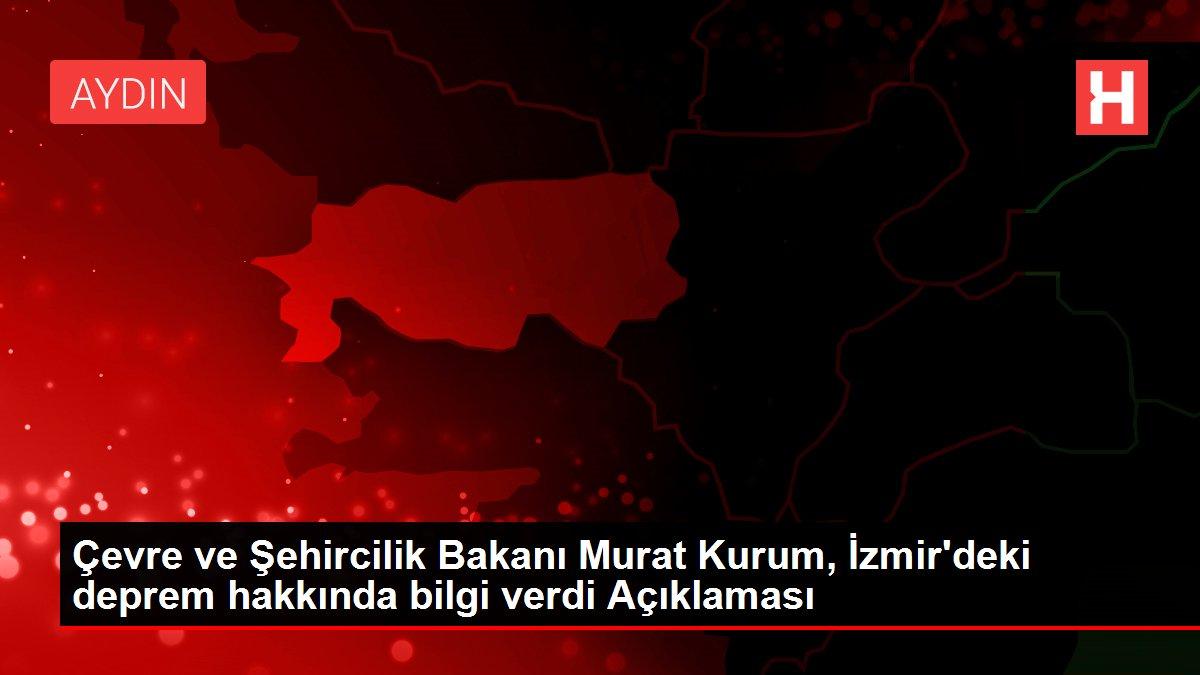 Son dakika haberleri! Çevre ve Şehircilik Bakanı Murat ...