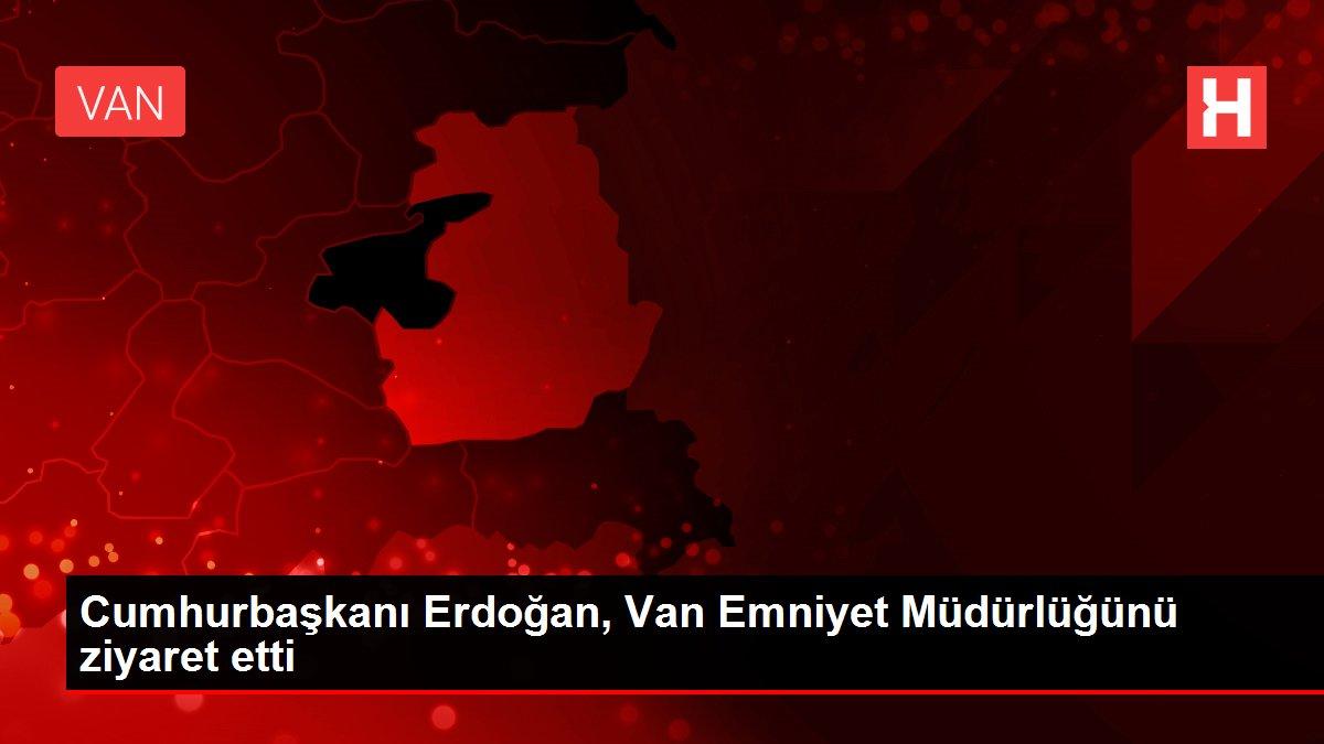 Son dakika haberi | Cumhurbaşkanı Erdoğan, Van Emniyet Müdürlüğünü ziyaret etti