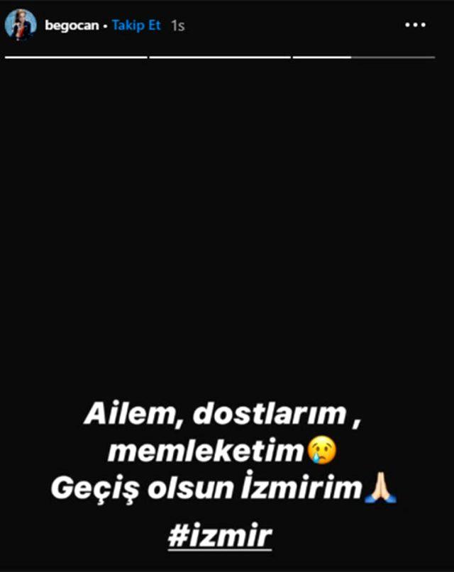 Ünlü isimler, Türkiye'yi ayağa kaldıran İzmir depreminin ardından sessiz kalamadı