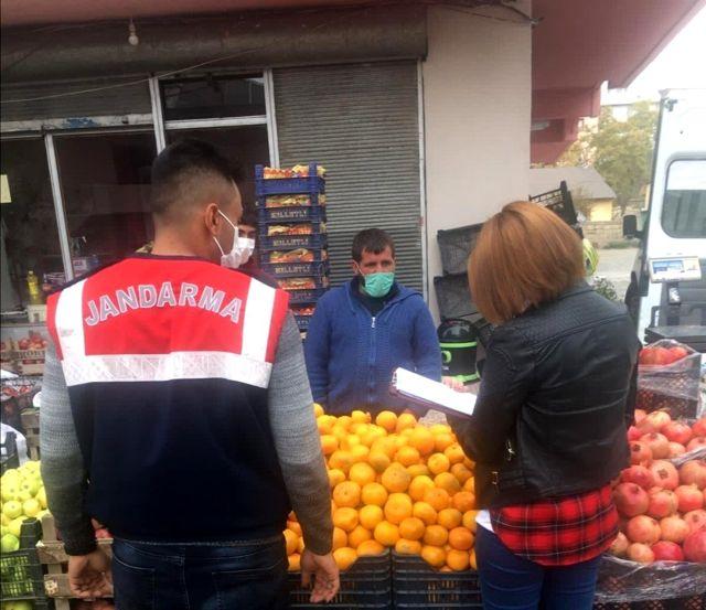 Ağrı'da karantina ihlaline 6 bin 300 lira para cezası kesildi