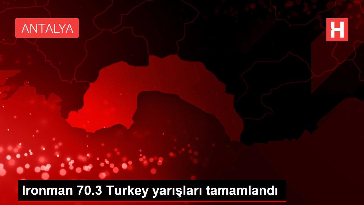 Ironman 70.3 Turkey yarışları tamamlandı