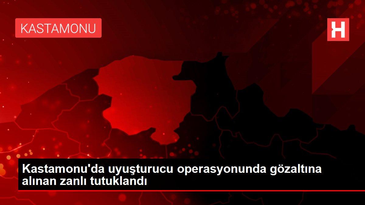 Kastamonu'da uyuşturucu operasyonunda gözaltına alınan zanlı tutuklandı