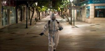 Grev: Koronavirüs: İspanya'da vaka sayıları artıyor, cenaze defin işçileri greve gitti, kısıtlamalar protesto edildi