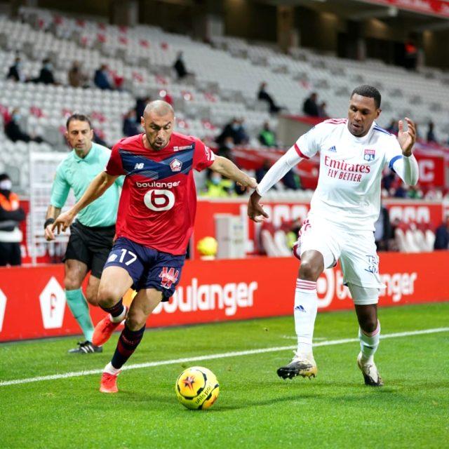 Lille, Zeki Çelik'in kendi kalesine attığı golle Lyon ile 1-1 berabere kaldı