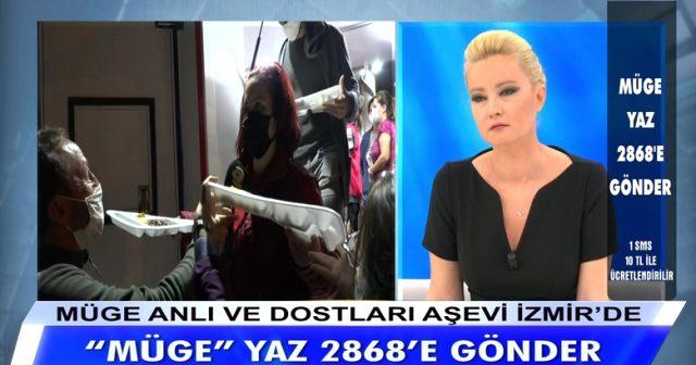 Müge Anlı, canlı yayında İzmir'deki depremzedeler için 3 milyon TL bağış topladı