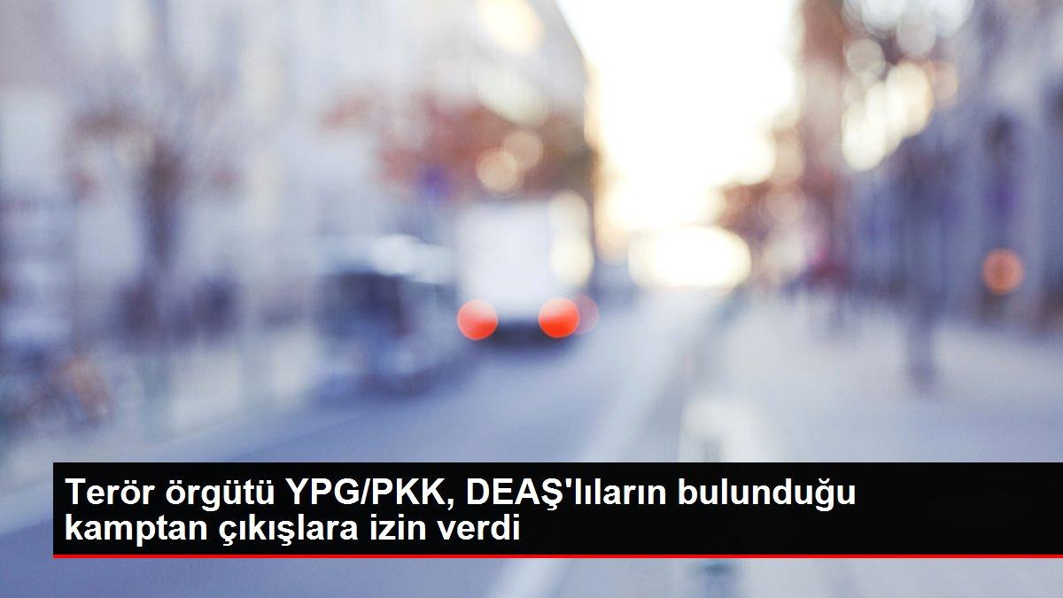 Son dakika haberi! Terör örgütü YPG/PKK, DEAŞ'lıların bulunduğu kamptan çıkışlara izin verdi