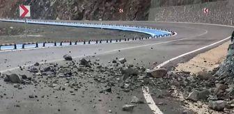 Arsuz: Hatay'da Samandağ-Arsuz yolu trafiğe kapatıldı