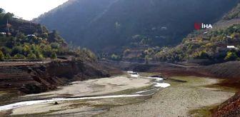 Kürtün: Torul Baraj Gölü'nde su seviyesi 40 metre çekildi