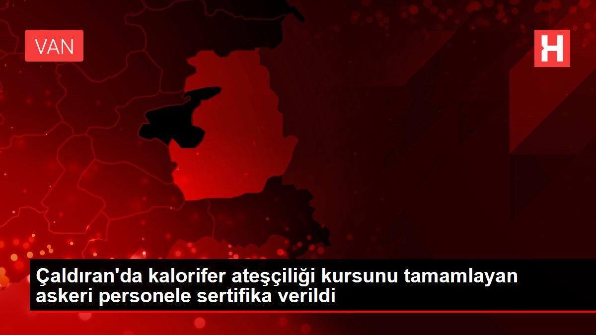 Son dakika haberi: Çaldıran'da kalorifer ateşçiliği kursunu tamamlayan askeri personele sertifika verildi
