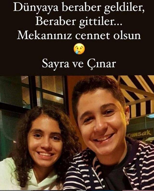 Depremde vefat eden ikizler, İclal Aydın'ın kuzeni çıktı! Veda paylaşımı herkesi derinden sarstı