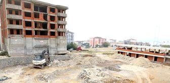 Hamza Şayir: Diliskelesi halı saha ve sosyal tesis inşaatı başladı