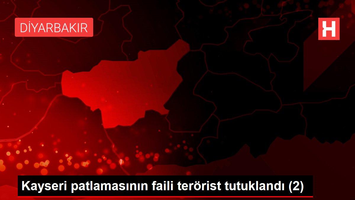 Kayseri patlamasının faili terörist tutuklandı (2)