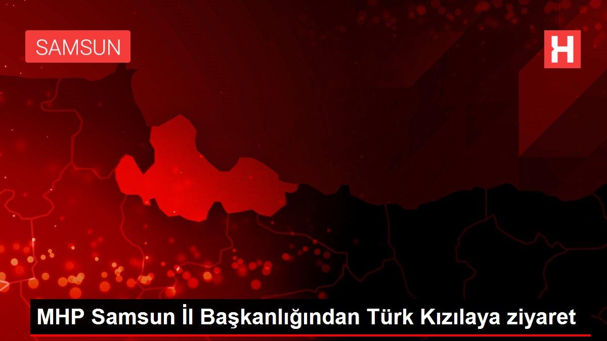 MHP Samsun İl Başkanlığından Türk Kızılaya ziyaret